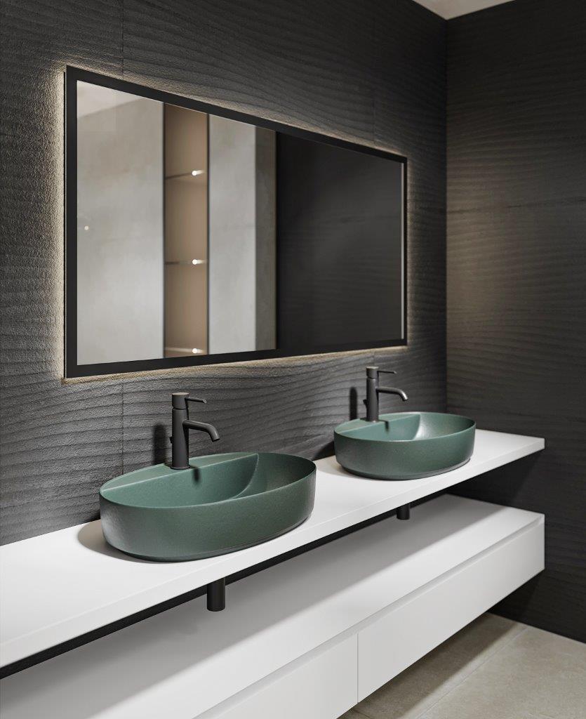 Design baie - lavoar COLOR verde