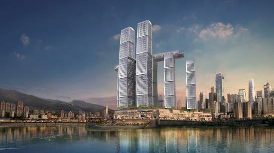 Raffles Chongqing CUR 3quarters render 01