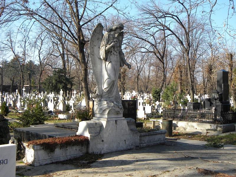 Bucuresti,_Romania,_Cimitirul_Bellu_Catolic_(Ingerul_in_iarna)