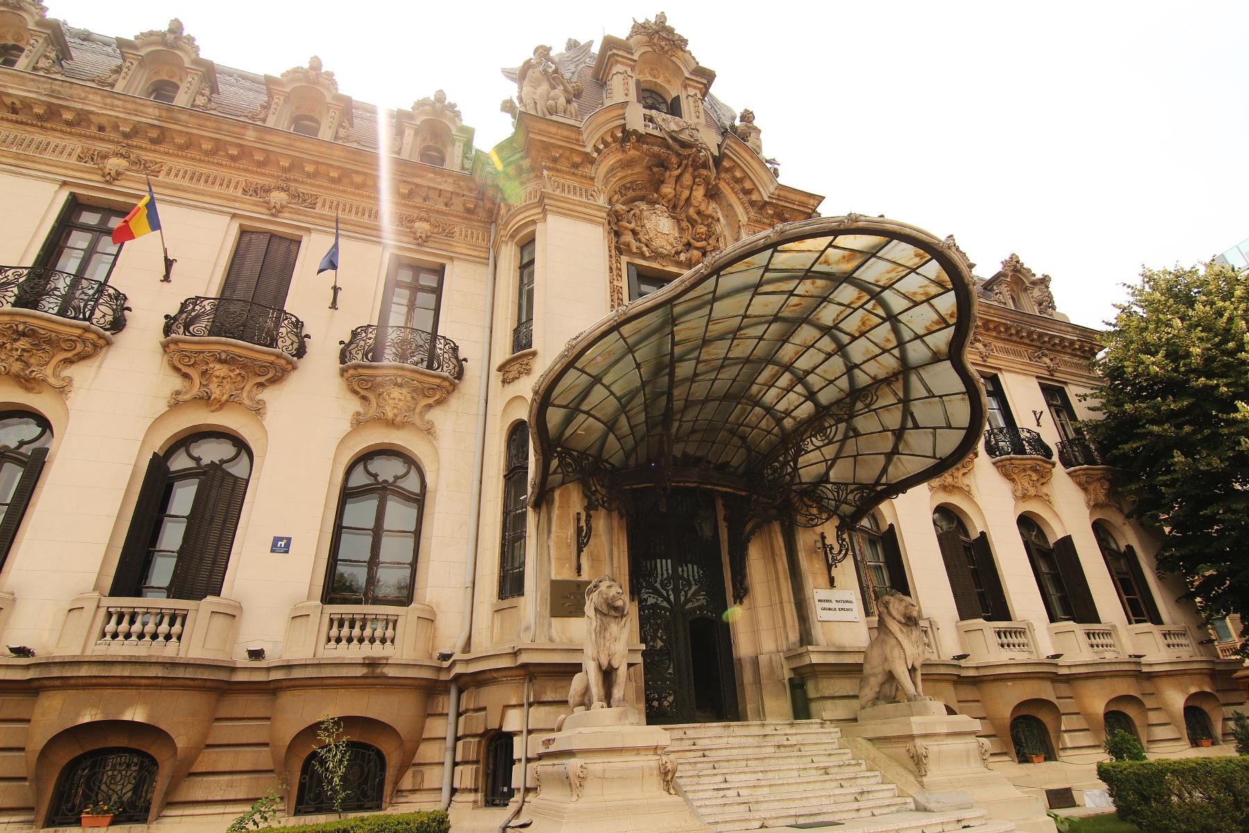 Muzeul_Enescu_-_intrare