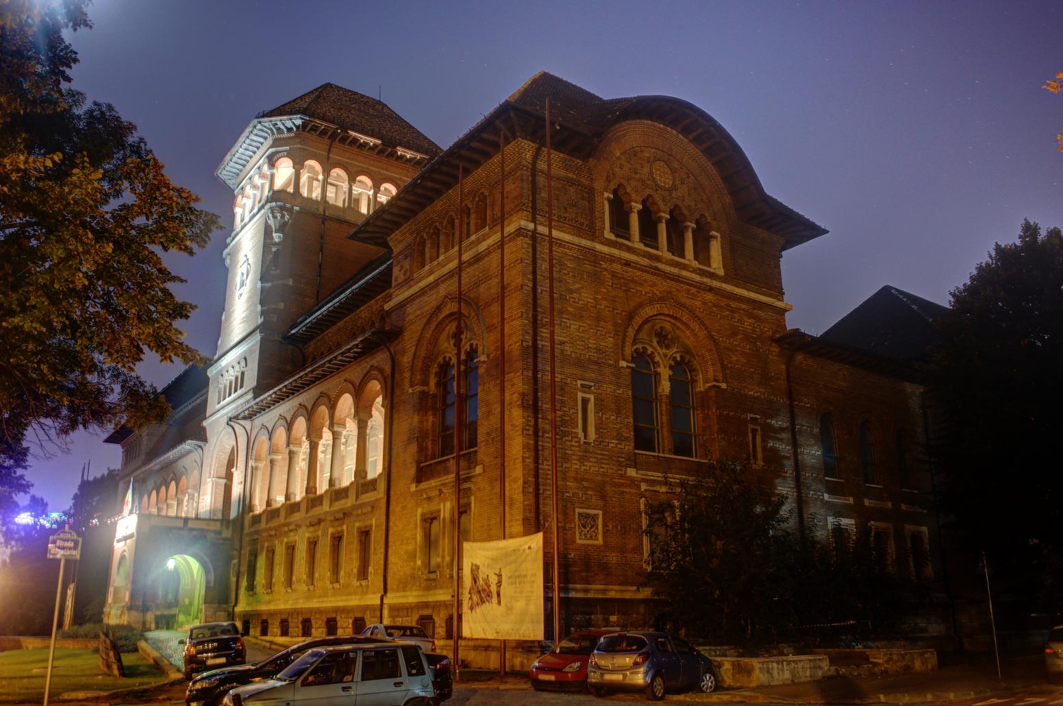 Muzeul_Taranului_Roman_night_HDR